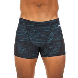 Zwemboxer voor heren 500 Stab All Sea blauw
