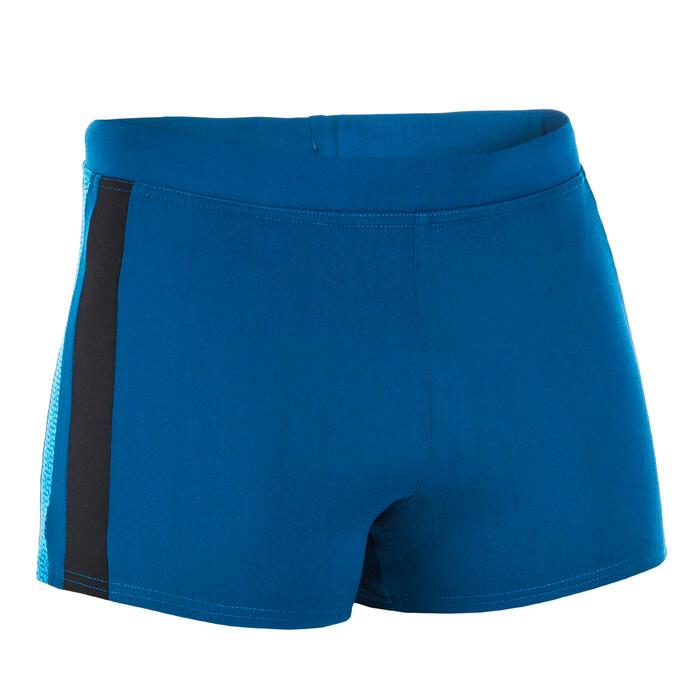 Zwemboxer heren 500 Yoke blauw/zwart