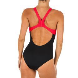 maillot de bain une pièce natation Arena Swim Pro Back noir rouge