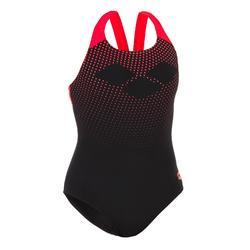 Sportbadpak Arena Swim Pro Back zwart/rood