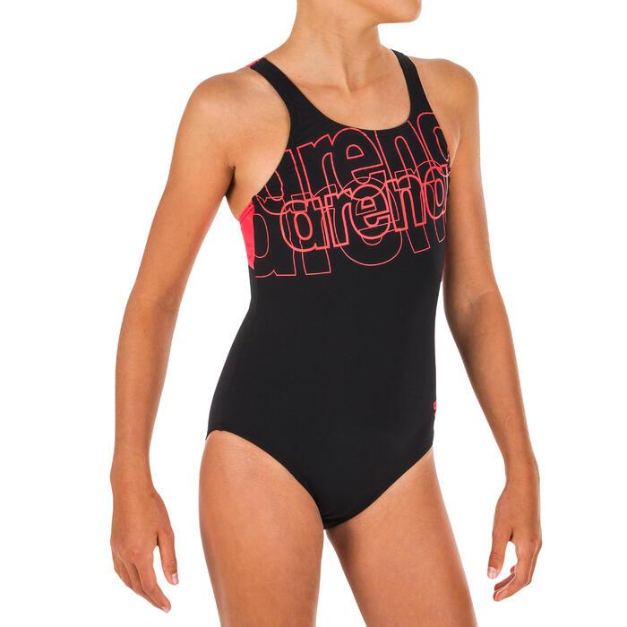 Fato de banho de natação menina spotlight max swim pro