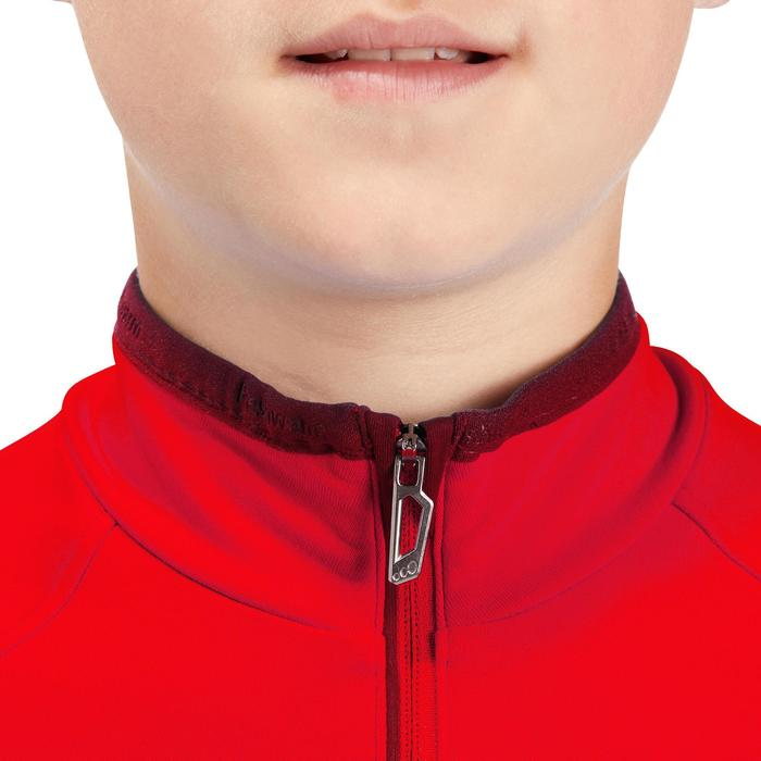 Thermoshirt voor kinderen Freshwarm 1/2 rits rood