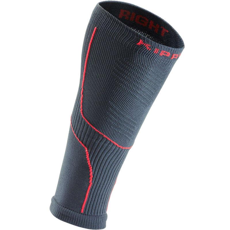 ADULT RUNNING SOCKS Running - Sleeve Comp 20 - grey/pink KIPRUN - Running Footwear