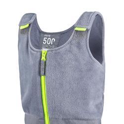 SALOPETTE DE SKI ENFANT PNF 500 GRISE