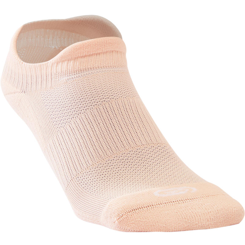 Invisible Comfort Running Socks 2-pack – Pink