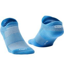 Onzichtbare hardloopsokken Comfort blauw X2