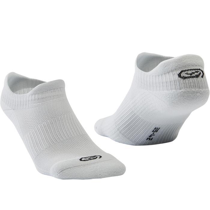 跑步隱形襪COMFORT兩雙入 - 灰色