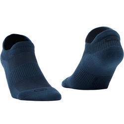 Invisible Comfort Running Socks 2-pack Dark Blue