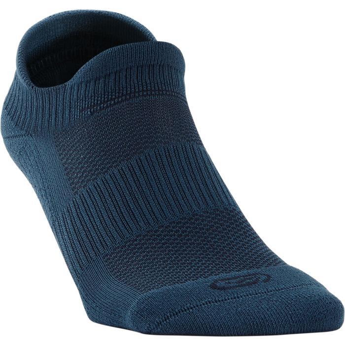 Onzichtbare hardloopsokken Comfort donkerblauw 2 paar