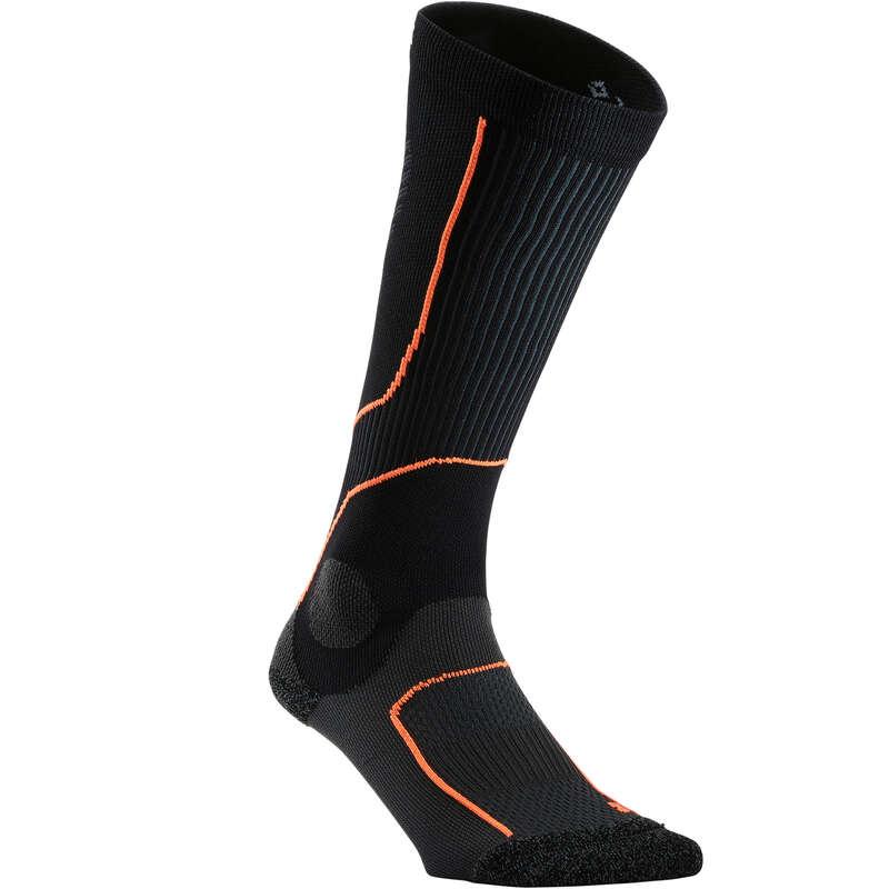 ADULT RUNNING SOCKS Running - Comp Sock 20 - black/red KIPRUN - Running Footwear