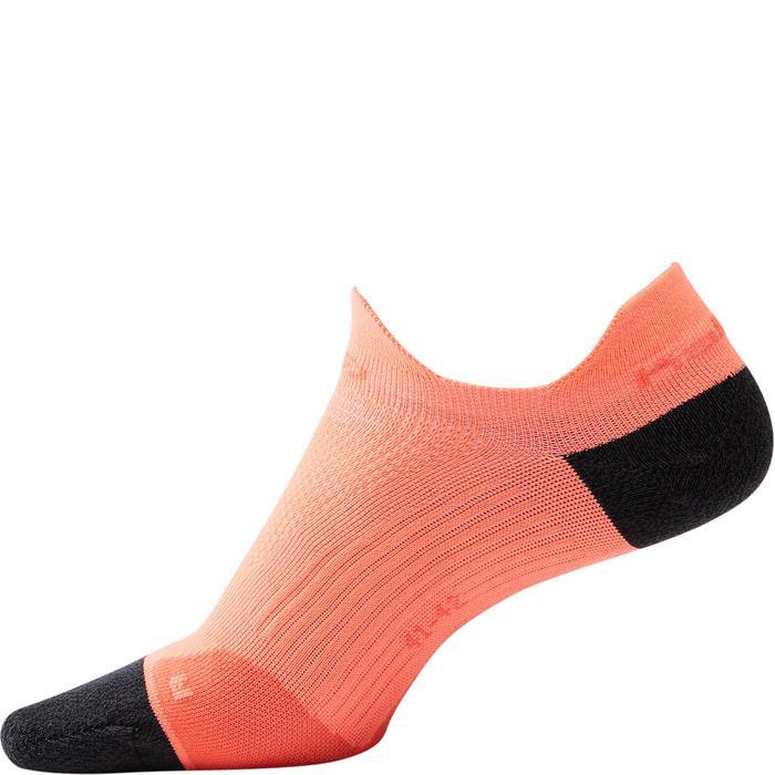 KIPRUN THIN INVISIBLE RUNNING SOCKS - ORANGE