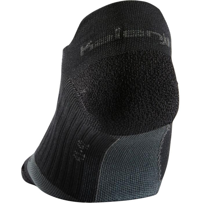 Dunne onzichtbare hardloopsokken Kiprun zwart