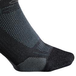 KIPRUN INVISIBLE THIN RUNNING SOCKS - BLACK
