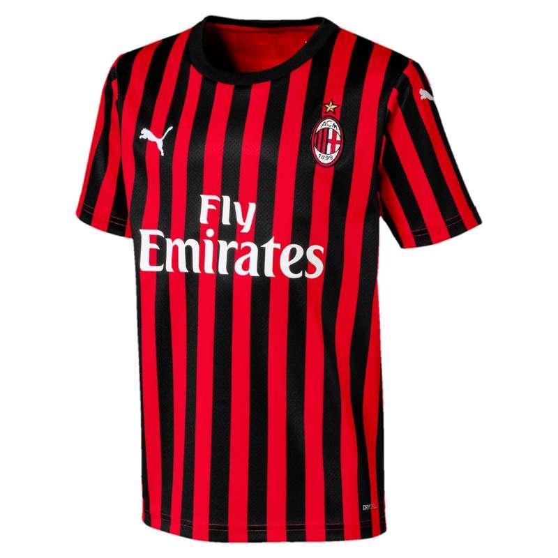 Maglie calcio uff it Sport di squadra - Maglia calcio jr milan 19-20 PUMA - Abbigliamento calcio