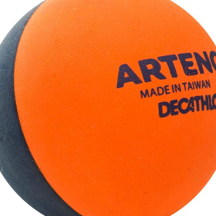 Pelote Ball cross Orange/bleu