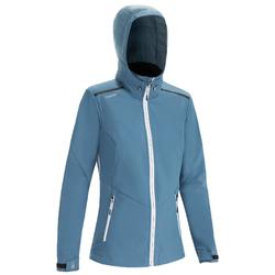Women's racing softshell Grey blue