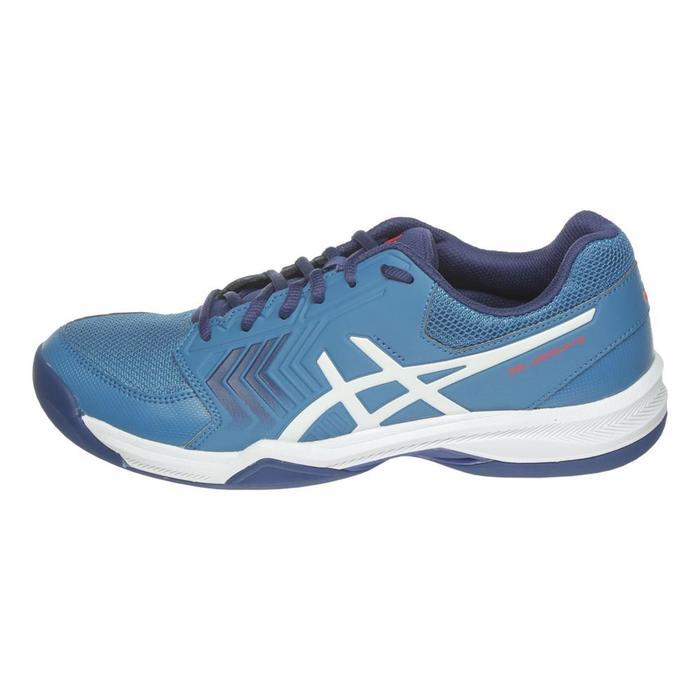 Tennisschuhe Gel Dedicate Indoor Teppichboden Herren blau