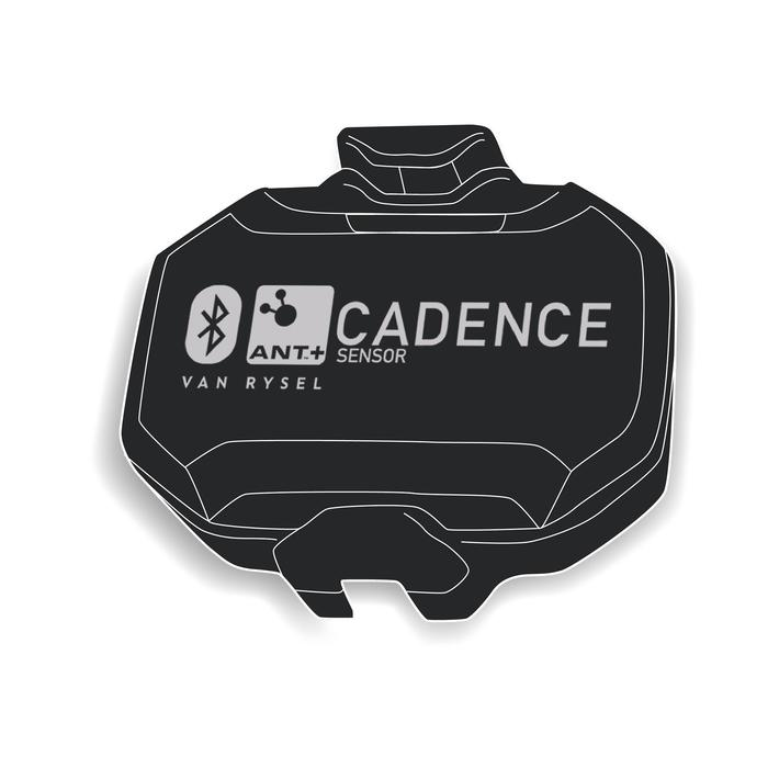 CAPTEUR DE CADENCE SANS AIMANT (ANT+/BLUETOOTH SMART)