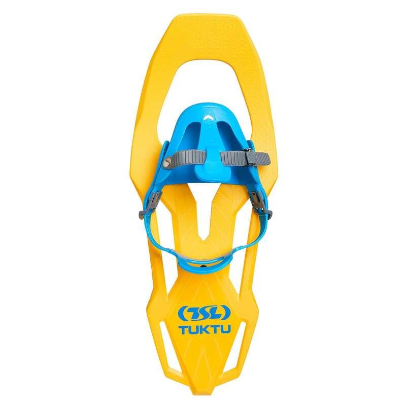 CIASPOLE E ACCESSORI Sport di Montagna - Ciaspole bambino TUKTU gialle TSL - Materiale Trekking