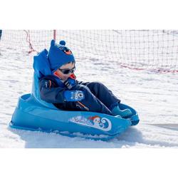 嬰幼兒雪橇滑雪靴WARM - 藍色
