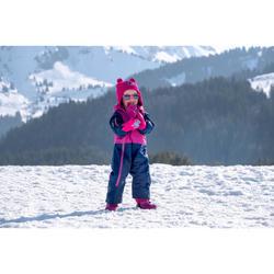 Combinaison pilote de ski / luge bébé XWARM PULL'N FIT violette