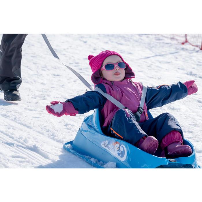 Moufles de ski / luge bébé WARM bleues