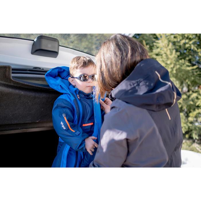 嬰幼兒滑雪/雪橇刷毛衣Midwarm - 藍色