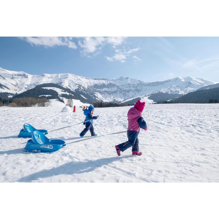 Moufles de ski / luge bébé WARM roses