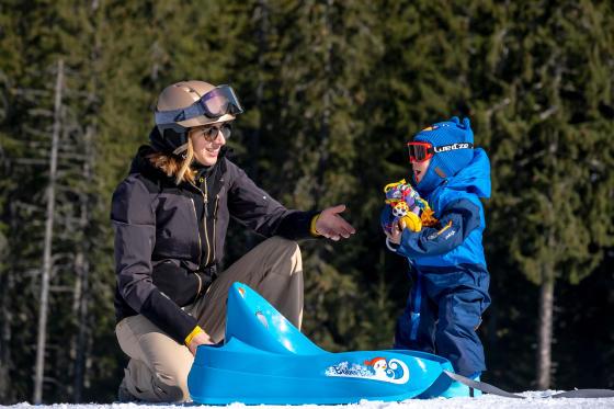 partir ski bebe teaser