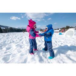 嬰幼兒滑雪/雪橇連襪Warm - 粉色