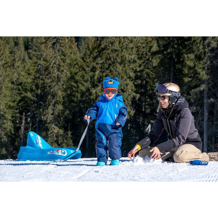 Combinaison de ski / luge bébé xwarm pull'n fit bleue