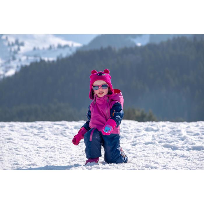 Ski-/sleemuts voor peuters Warm blauw