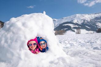 Activités neige enfants