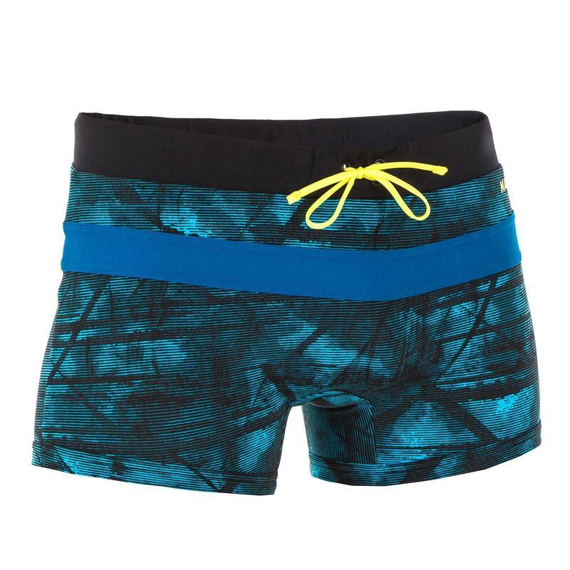 Boxeri înot 100 POOL Albastru Bărbați