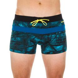 Badehose Boxer 100 Pool Tex Herren blau