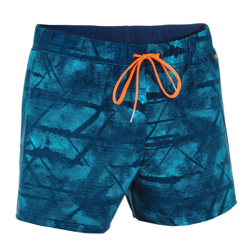 Men's Swimming Short Swim Shorts 100 - Tex Blue