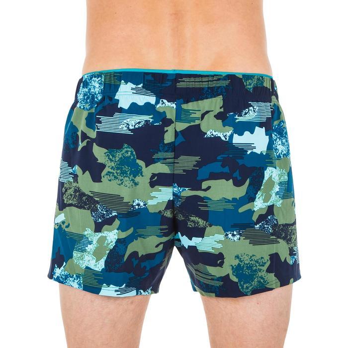 Men's Swimming Short Swim Shorts 100 - Camo Blue Khaki