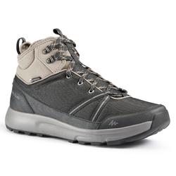 防水郊野遠足鞋 - NH150 - 炭灰色 - 男裝