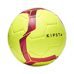 Voetbal F500 hybride light maat 4 geel