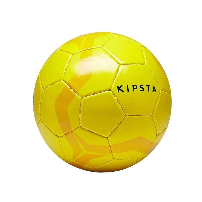 11 FOOTBALL BALLS Football - First Kick Size 4 Ball Yellow KIPSTA - Football