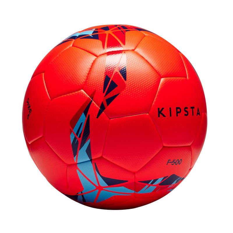 11 FOOTBALL BALLS - F500 Hybrid Size 5 Ball - Red KIPSTA