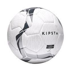 F100 Hybrid Football Ball Size 5 - White/Black/Silver