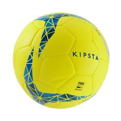 5號熱黏合足球F900 FIFA Pro-黃色/藍色/灰色