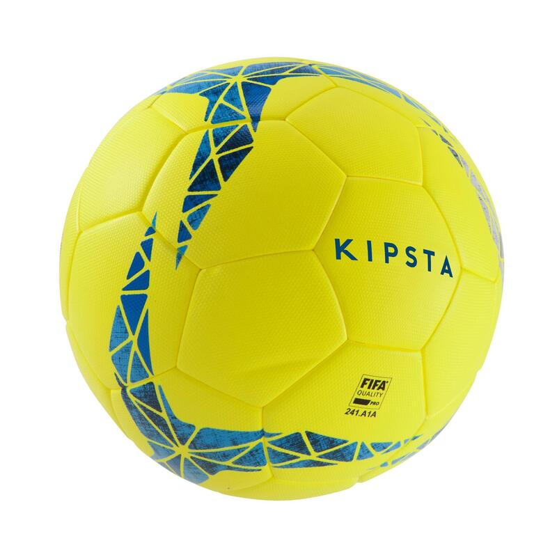 F900 FIFA Pro Size 5 Thermobonded Football - Yellow/Blue/Grey