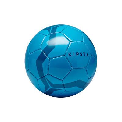 Ballon de football First Kick taille 3 (_INF_ 8 ans) bleu