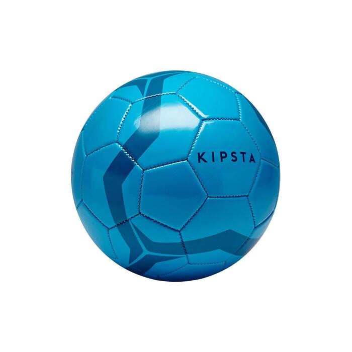 Voetbal First Kick maat 3 (tot 8 jaar) blauw