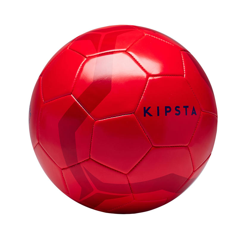 Ballon de football First Kick taille 5 (_SUP_ 12 ans) rouge
