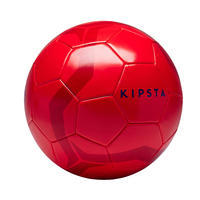 First Kick Size 5 (> 12 Years) Soccer Ball Red