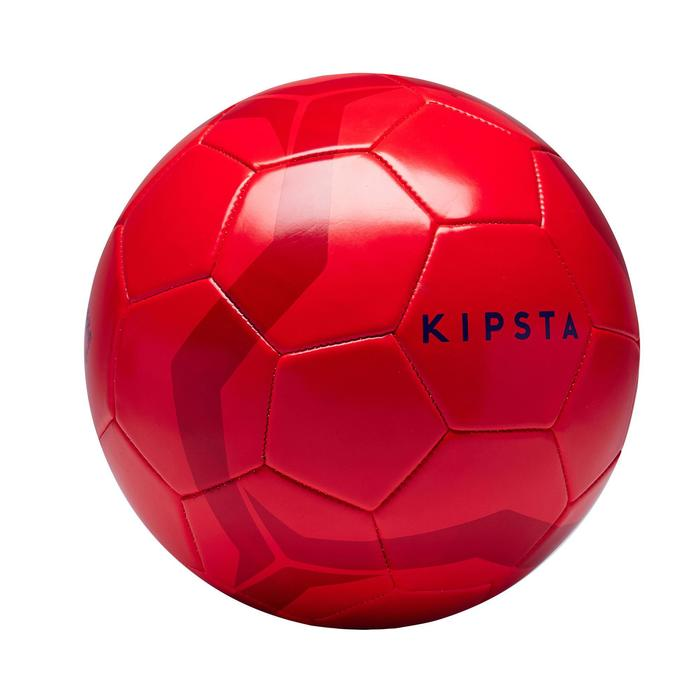 Ballon de football First Kick taille 5 (> 12 ans) rouge