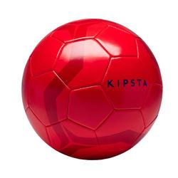 Fussball First Kick Grösse 5 (> 12 Jahre) rot